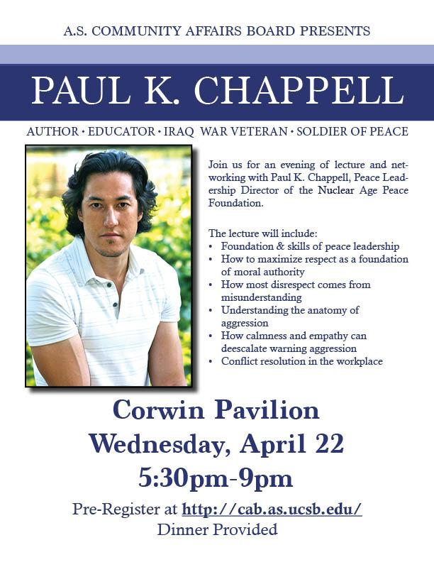 Paul K. Chappell