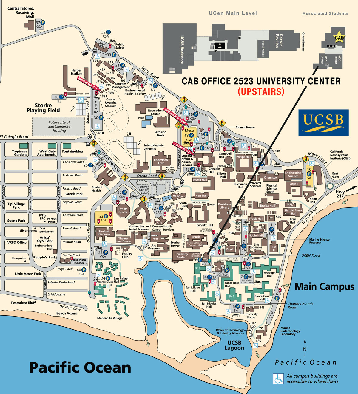 Atlas California Map Santa Barbara – Santa Barbara Tourist Map
